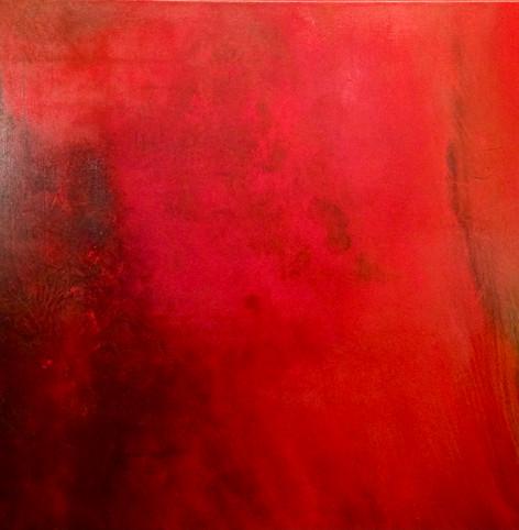 Triptyque rouge 2/3