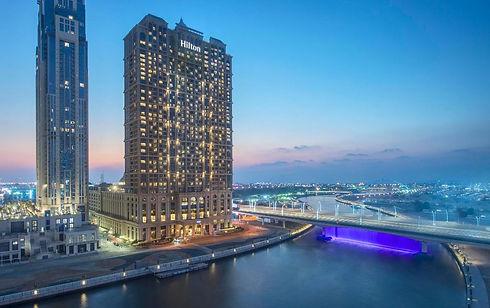 Hilton Dubai Al Habtoor City - Exterior.