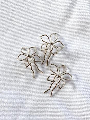 Bridal or Bridesmaid Flower Pin