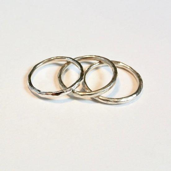 The Fundamental Stacking Ring