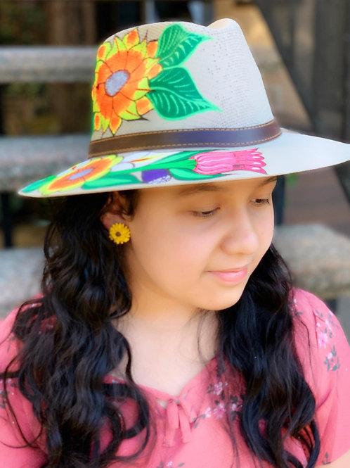 Florecita Sombrero