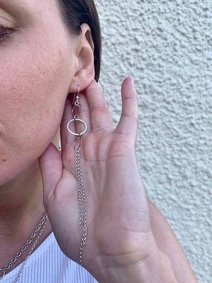 The Fundamental Circle Earrings