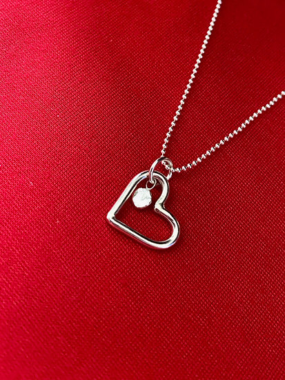 Personalised Heart Pendant
