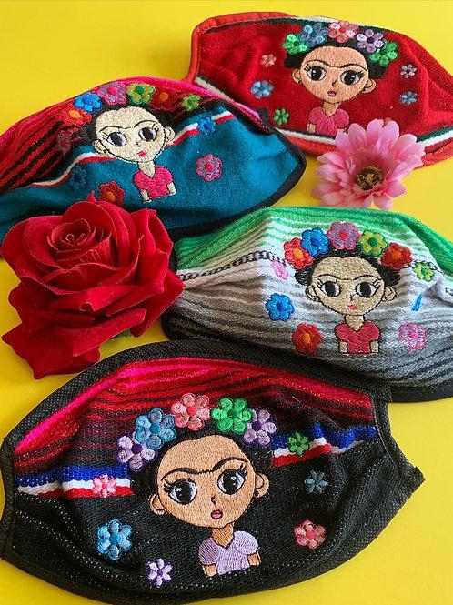 Baby Frida Zarape Mask