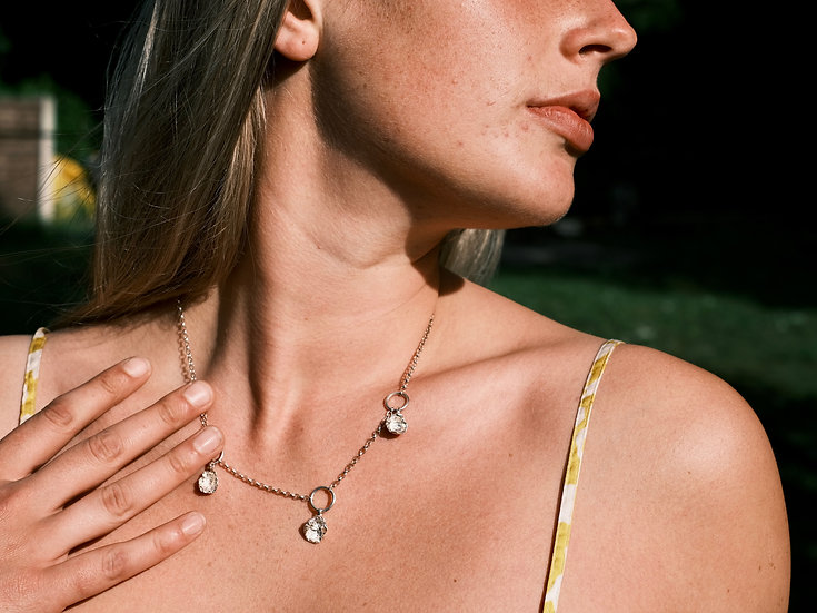 The White Lagoon Necklace #5