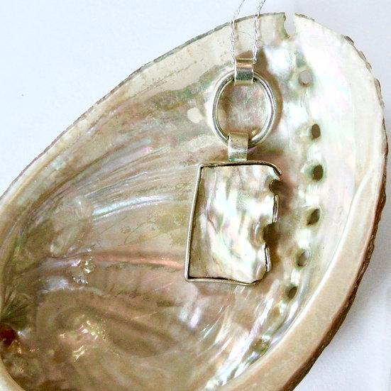 Aqua Orma Shell Pendant