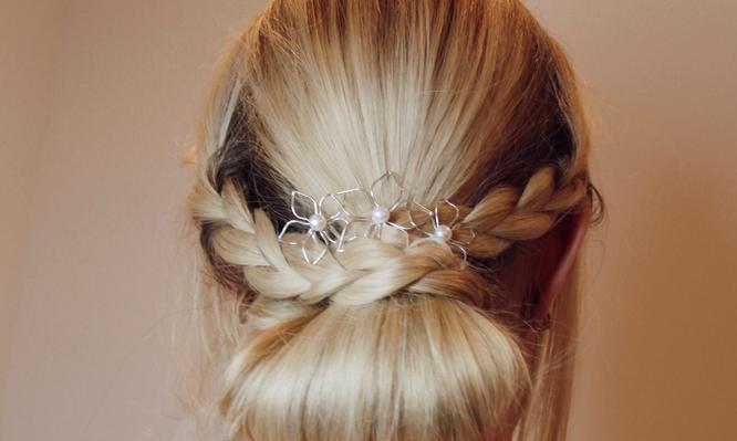 Bridal Flower Pin