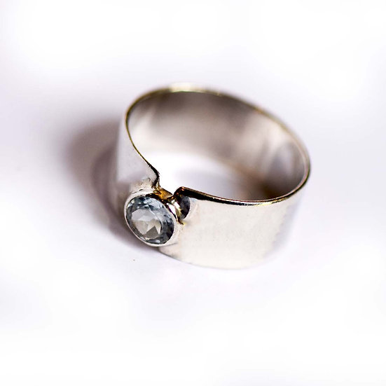 The Fundamental Band Ring In Sky Blue