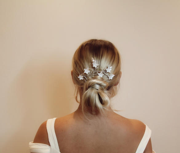 The Floral Bridal Headpiece