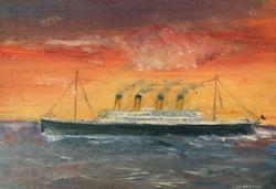 Last Sunset for the Titanic