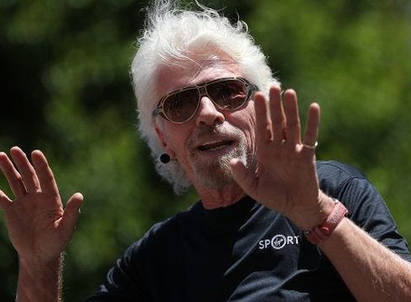 Richard Branson - the dyslexic billionaire