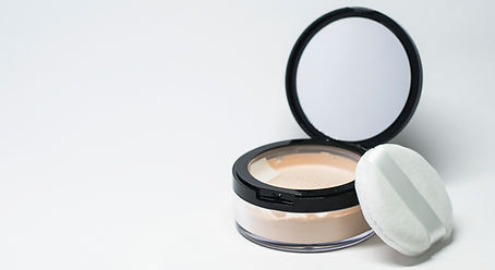Skincare facial powder