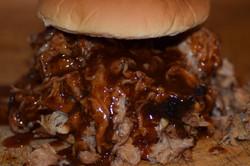 Mr. Pig Pulled Pork Sandwich