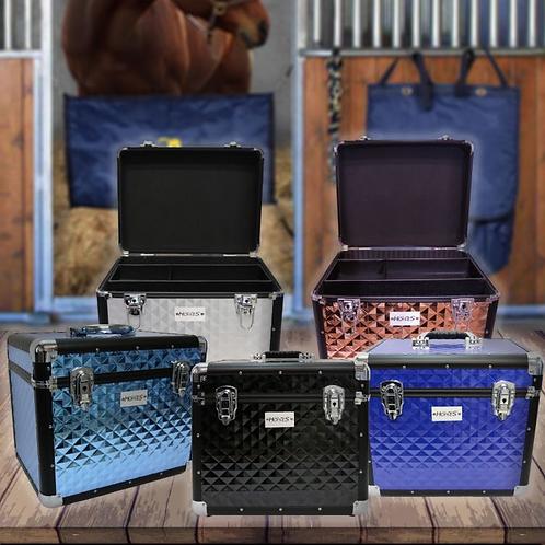 Horses Shiny Aluminum Case