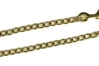 """""""M"""" range Classic Stallion Brass Rein Chains"""