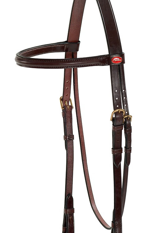 STEPHENS HEADSTALL, BROWBAND AND CHEEK PIECES