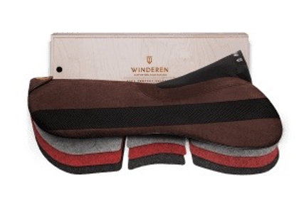 Winderen saddle half pad Jumping Correction system Slim 10mm