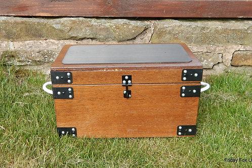 Stubbs Wooden Tack Box