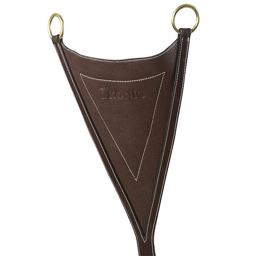 IKONIC SOFT LEATHER BIB CLIPS TO MARTINGALE