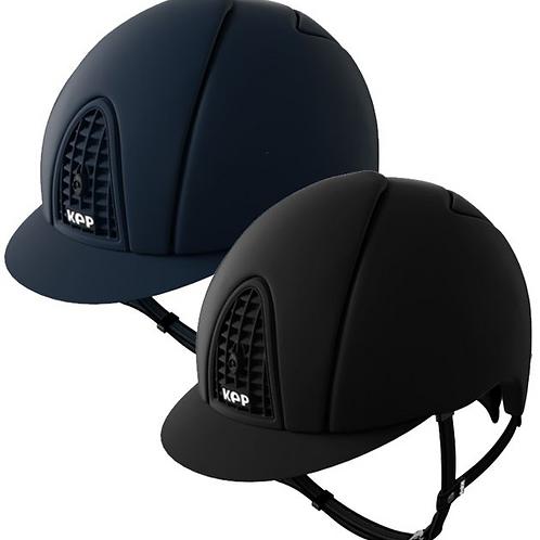 Kep Italia Cromo Textile Helmet Matt Grid and Frame