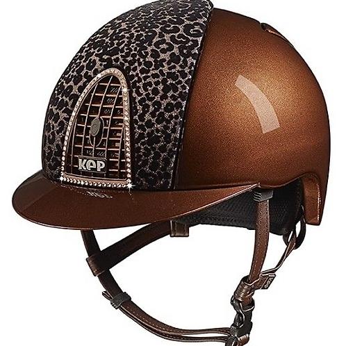 Kep Cromo Metal Baboon Swarovski Helmet
