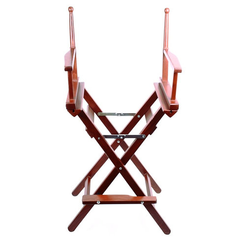 ONE equestrian wooden chair frame high