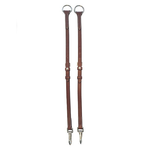 Silver Crown all-leather martingale attachment