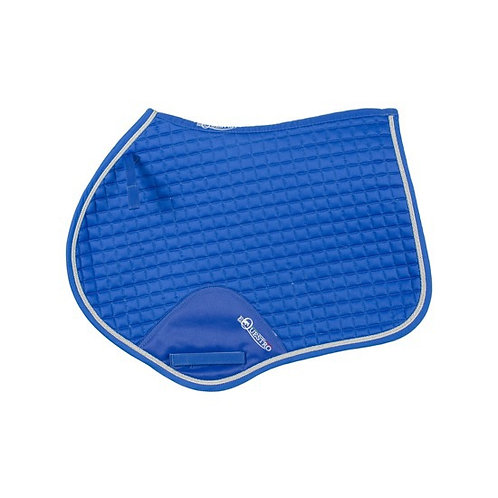 EQUESTRO JUMP SADDLE PAD IN SHAPED COTTON