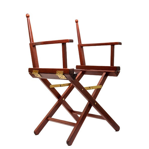 ONE equestrian wooden chair frame small