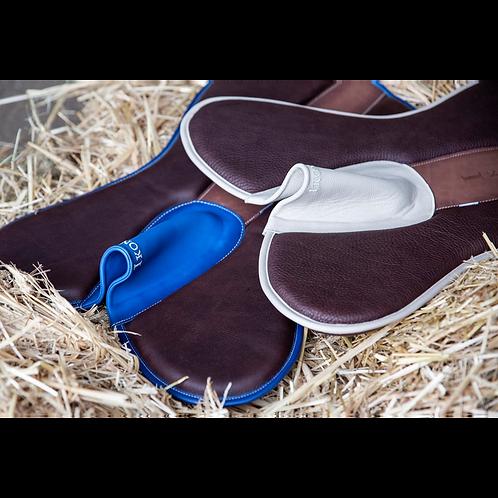 Ikonic soft leather saddlepad