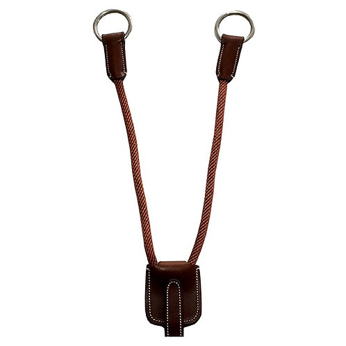 Leather and rope attachment