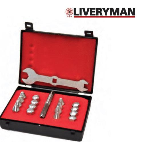 Liveryman studs and spanner set