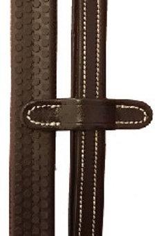 Cavaletti plain rubber reins