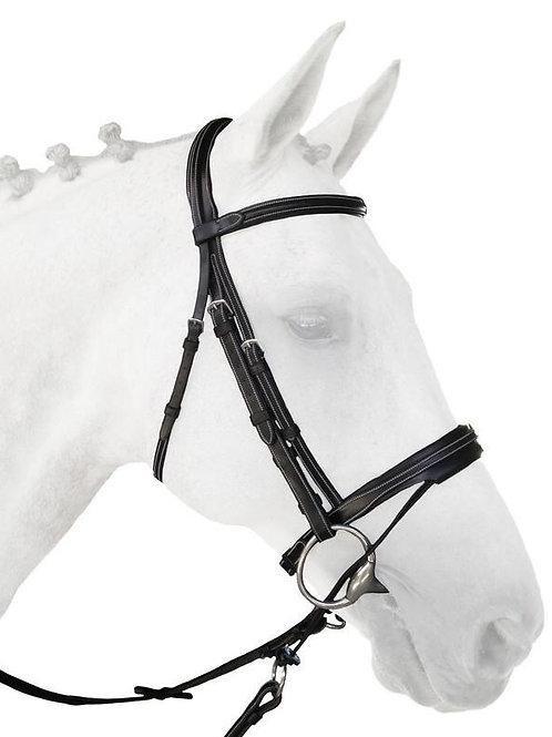 Silver Crown Valla noseband