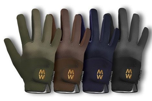 Macwet Climatec Equestrian Gloves Climatec Back-Shorter Cuff