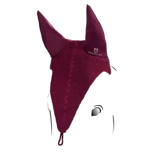 EQUESTRO PERFORATED EAR IN TECHNICAL FABRIC