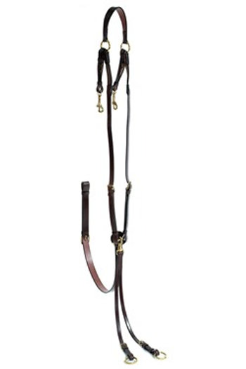 STEPHENS FULLY ADJUSTABLE HUNT BREASTPLATE WITH ATTACHMENT 5/8IN