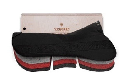 Winderen saddle half pad Jumping Correction system comfort 18mm