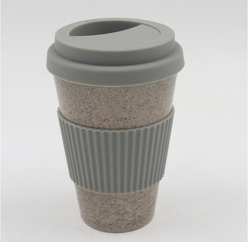 Coffee ground plastic cup