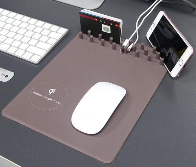 Wireless Charger with Mouse Pad