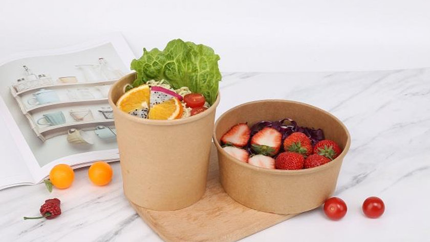 Eco friendly disposable Paper Bowl (PLA or PE Lamination)