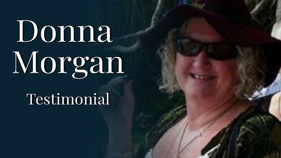 Donna Morgan Testimonial