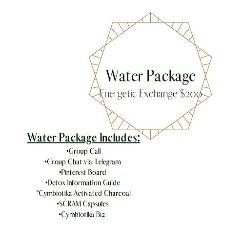 Parasite and Heavy Metals Detox Water Package