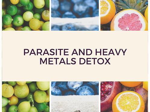 Parasite and Heavy Metals Detox