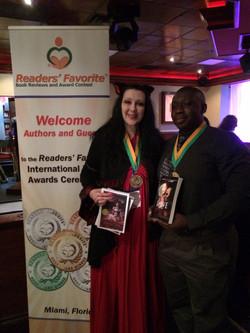 With Author Ben Burgess