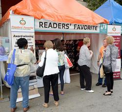 Readers' Favorite Tent
