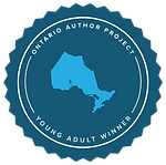 OntarioAuthorProject-Badge-YAWinner-Blue