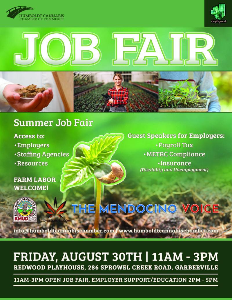 Job Fair Flyer August 30