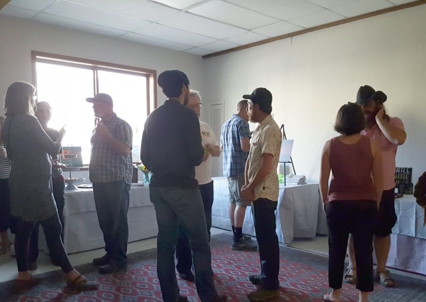 It was great to see community members at the June mixer at SHBVB.