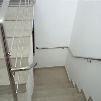 Corrimão para escada em aço inox